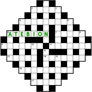 Atebion Croesair Rhifyn 1
