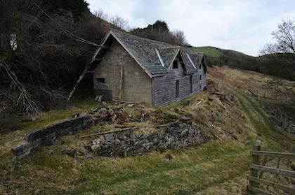 Llaethbwlch ger Llanfyllin, Powys