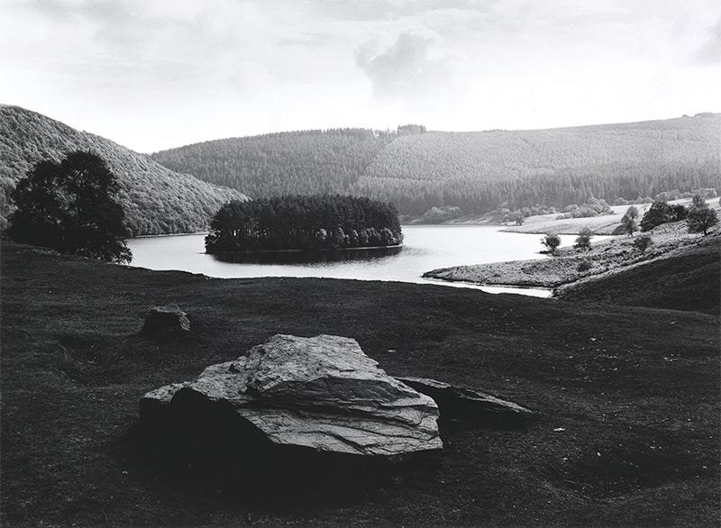 'Pen-y-garreg Reservoir', Fay Godwin