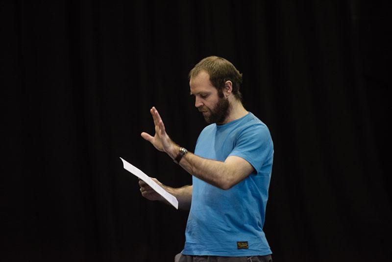 Gareth John Bale, ymarferion Macbeth