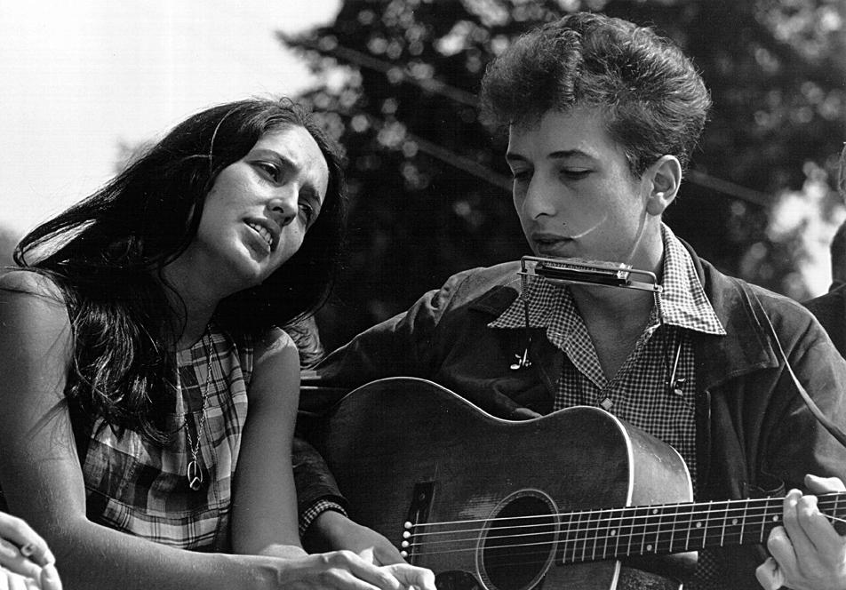 Joan Baez a Bob Dylan