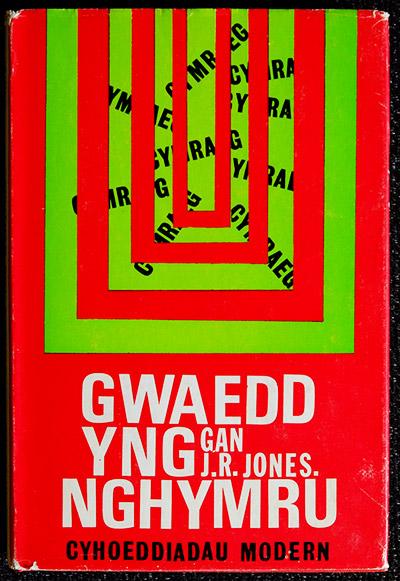 Gwaedd yng Nghymru, J R Jones